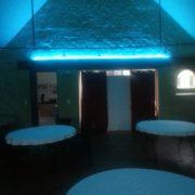le domaine de la cour - décoration lumière de salle