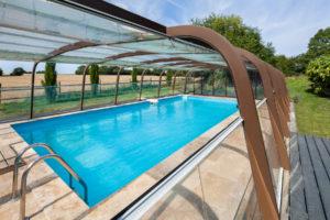 piscine couverte chauffée en Normandie orne