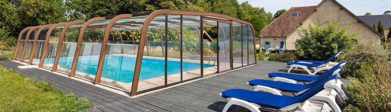 Gite de groupe normandie piscine le domaine de la cour l for Gite de groupe avec piscine couverte