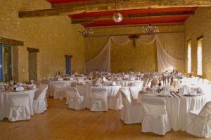 le domaine de la cour - salle de mariage décoration