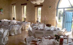 le domaine de la cour - salle de réception en normandie, décoration mariage