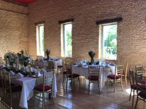 décoration salle pour mariage en normandie